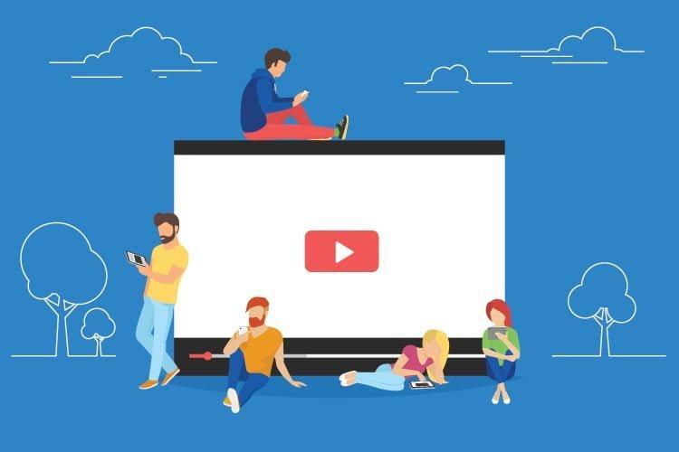 Vidéo en direct médias sociaux