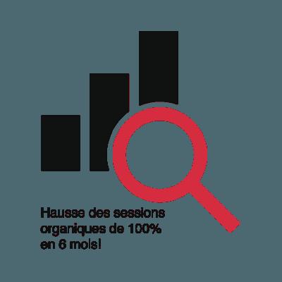 Futé Marketing - Hausse des sessions organiques de 100% pour DMO Crédit
