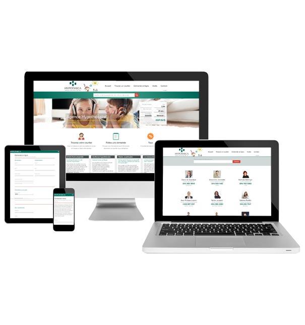 Stratégie de gestion des réseaux sociaux complexe pour Hypotheca