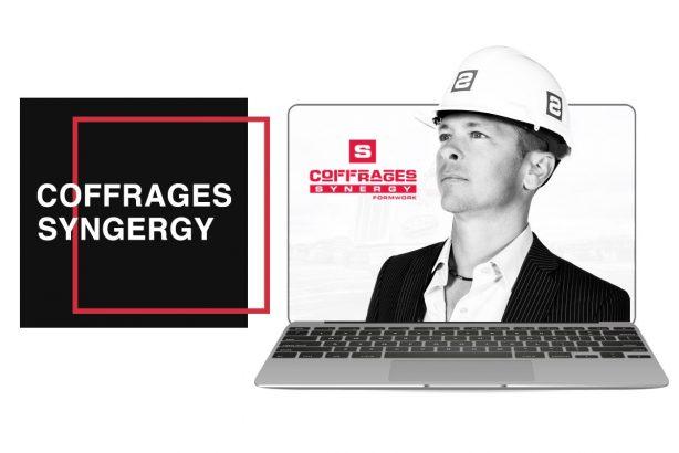Coffrages Synergy une réalisation de Futé Marketing