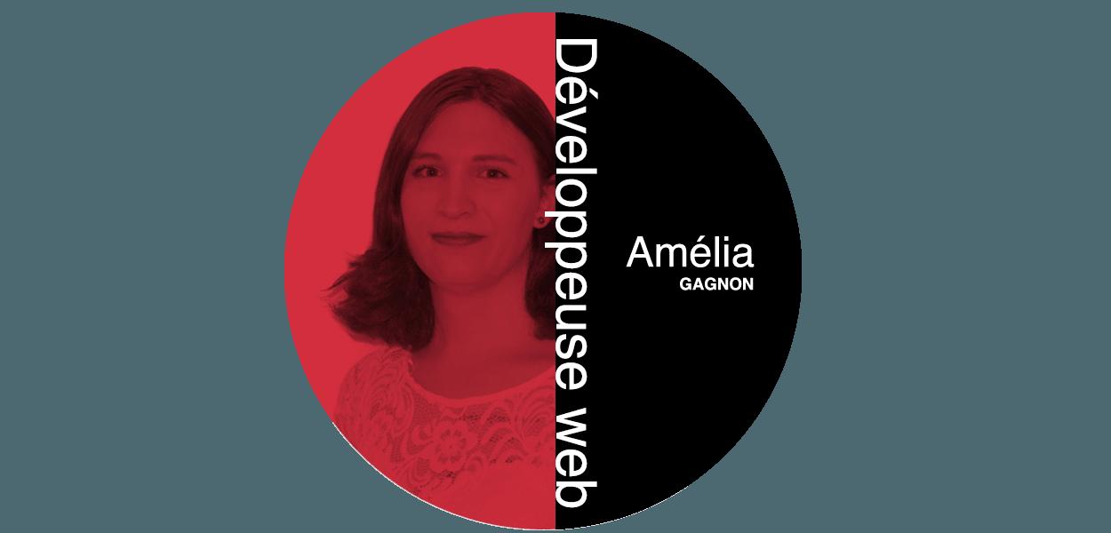 Amélia Gagnon Développeuse web chez Futé Marketing