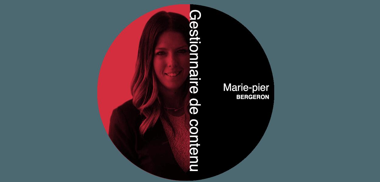 Marie-Pier Gestionnaire de contenu chez Futé Marketing
