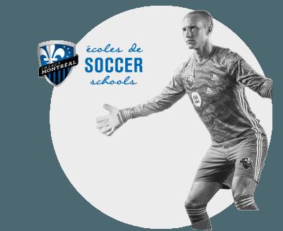Réalisation - Écoles de soccer Impact Montréal - Futé Marketing